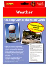 Weather, Science Cards, Grades 3+