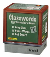 Classwords Vocabulary, Grade 5