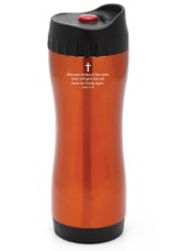 Stainless Thermo Sport Bottle, Orange