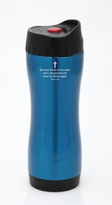 Stainless Thermo Sports Bottle, Teal