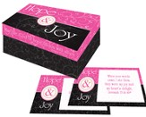 Hope & Joy Keepsake Box with 30 Scripture Cards