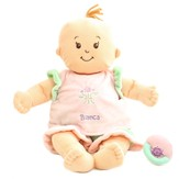 Personalized, Peach Stella Baby Doll