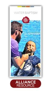 Water Baptism Brochure - Packs of 100