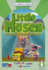 Little Moses: Learn to Count with the Story of Moses, DVD