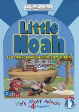 Little Noah: Learn About Animals with the Story of Noah, DVD