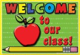 Welcome to Our Class Apple Postcard, Pack of 30