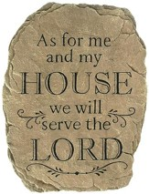 As For Me and My House Stepping Stone