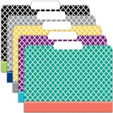 File Folders - Moroccan Assorted, Pack of 12