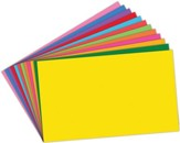 12 Assorted Index Cards 3 x 5, Pack of 100