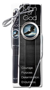 Man of God Bookmark and Pen Set