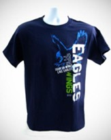 Eagles Wings Shirt, Navy, Medium