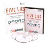 Five Lies That Ruin Relationships Starter Kit (1 DVD Set &  5 Study Guides)