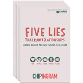 Five Lies That Ruin Relationships Study Guide - pack of 5