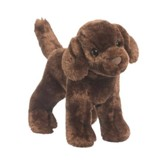 Sylvia Chocolate Lab, Plush Dog