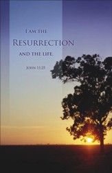 I am the Resurrection (John 11:25) Bulletins, 100