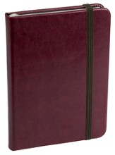 Baxter Notebook, Burgundy