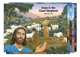 Bible Story Posters, Set of 5
