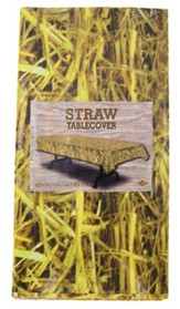 Straw Tablecover, 54x108