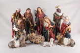 Elegant Nativity Set 11 pieces