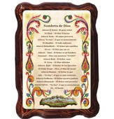 Names of God Plaque, Spanish