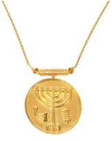 Temple Menorah Pendant