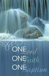 One Lord, One Faith, One Baptism, Pack of 50 Bulletins