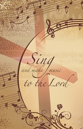 Sing and Make Music to the Lord, Pack of 100 Bulletins