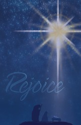 Christmas Star Rejoice, Pack of 50 Bulletins