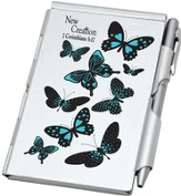Aluminum Notepad and Pen Set, New Creation