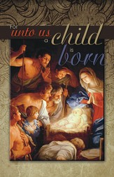 For Unto Us a Child Is Born, Pack of 100 Bulletins