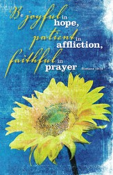 Be Joyful in Hope, Pack of 100 Bulletins