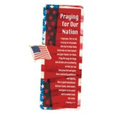 Praying for Our Nation Lapel Pin and Card