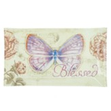 Blessed, Butterfly Glass Tray