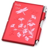 Aluminum Notepad and Pen Set, Psalm 72:6