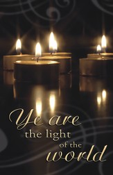 Ye Are the Light of the World, Pack of 100 Bulletins