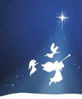 Silhouette Advent 3 Angels, Pack of 100 Large Bulletins