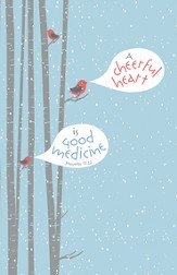 A Cheerful Heart Is Good Medicine, Pack of 100 Bulletins