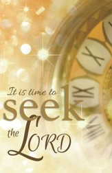 It is Time to Seek the Lord, Pack of 100 Bulletins