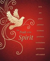 The Fruit Of The Spirit, Pack of 100 Large Bulletins