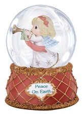 Precious Moments(R) Peace On Earth Musical Snow Globe