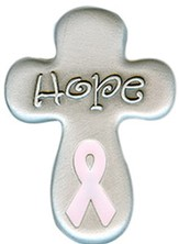 Hope, Pink Ribbon Pocket Token