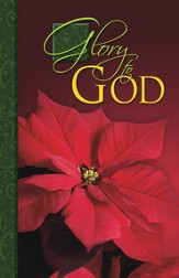 Glory to God Red Poinsettia, Pack of 50 Bulletins
