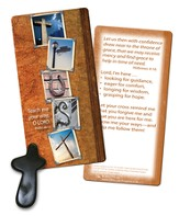 Holding Cross Pocket Token and Bookmark
