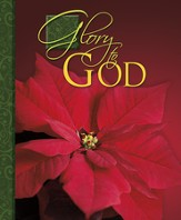 Glory to God Red Poinsettia, Pack of 100 Large Bulletins