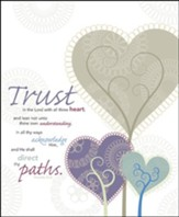 Trust in the Lord, Pack of 100 Large Bulletins
