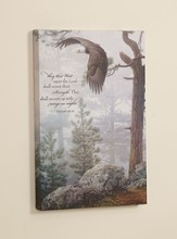 They That Wait Upon the Lord, Eagle Framed Art