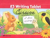 K5 Writing Tablet (Cursive)