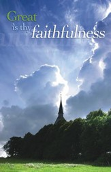 Great Is Thy Faithfulness, Pack of 100 Bulletins