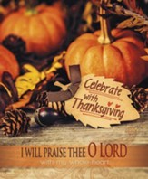 Celebrate with Thanksgiving, Pack of 100 Large Bulletins