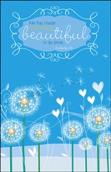 He Has Made Everything Beautiful, Pack of 50 Bulletins